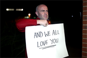 Hungryhouse tugs the festive heartstrings with Love Actually-inspired campaign