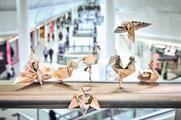 Intu releases 'Money Birds' into UK shopping centres