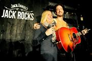 Jack Daniel's hosted the gig for competition winner Michelle Hampton