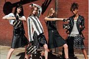 Louis Vuitton: signed up Jaden Smith (far right) as face of women's label