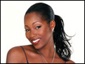 Jamelia: replacing Stevens as face of Pretty Polly
