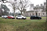 Jeep Renegade launch: 4x4 course at Winton House