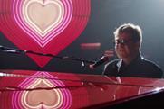Elton John featured in last year's John Lewis Christmas ad