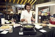 Cooking demonstrations at John Lewis's Islington pop-up