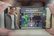 Kevin Bacon demonstrates AR to launch EE's 5G service