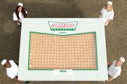 Krispy Kreme's Double Hundred Dozen box