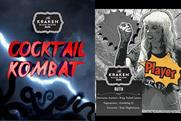 Kraken takes inspiration from Mortal Kombat in bartender cocktail competition
