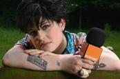 Osbourne: filming Glastonbury for Orange