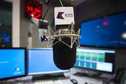 Kiss: the top radio station in London in the last quarter of 2014 with 1.9 million weekly listeners