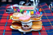 Krispy Kreme's new picnic offering was on show as part of the celebrations