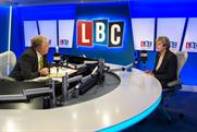 Nick Ferrari interviews the Prime Minister Theresa May on Global station LBC
