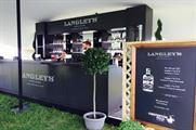 Langley's No. 8 pop-up G&T bar at Chestertons Polo in the Park