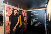 The photo booth is visiting key London train stations