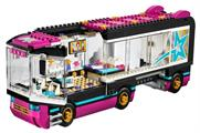 The Lego Friends Pop Stars tour bus will stop off at numerous locations between June and September