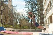 Vodafone: the spot features a boy's failed attempt to dunk a basketball