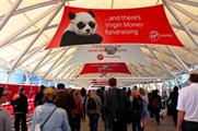 RPM is behind Virgin Money's brand experience at the Virgin Money London Marathon expo at Excel London