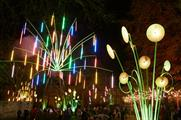 The Garden of Light installation will take over Leicester Square (Image: Matthew Andrews)