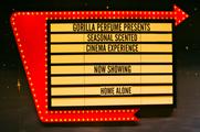 The scented cinema is hosting screenings of a range of festive films