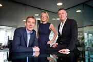 M&C Saatchi management team (l-r): Duffy, Thomas and MacLennan