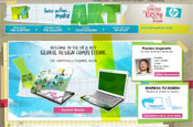 MTV: launches microsite with HP