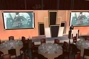 An artistic impression of Metro's Hollywood glamour set for Macmillan's charity event