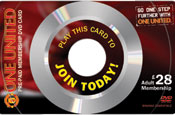 Man Utd: interactive gift card
