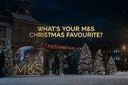 M&S democratises food range with unscripted Christmas ad starring real people