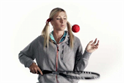 Maria Sharapova: pictured in a 2010 Nike ad for HIV and AIDS awareness
