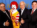 McDonald's chiefs: 'lovin' it'