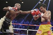 Mayweather vs Pacquiao: ringside spectators used Periscope to stream videos of the fight to the web. Credit: PA Photos