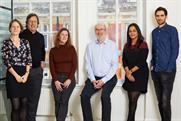 MediaSense management team: Eva Landuyt, Graham Brown, Nicola Poynter, Andy Pearch, Aparna Potdar and Ryan Kangisser
