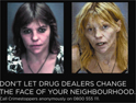 Anti-drugs ad: Met using graphic imagery