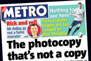Metro: parts company with Grant Woodthorpe after 13 years