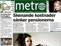 Metro: pan-European ad packages on offer