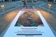 National Geographic rolls out 'missing cat' poster with a difference
