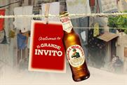 Birra Moretti offers free meals for diners who bring tables