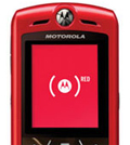 Motorola Red: backed by Mother ad campaign