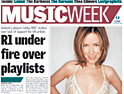 Music Week: relaunched and back on the web