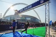 The fan events offer attendees the chance to practice their NFL skills