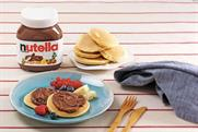 Nutella swaps syrup for choc spread for Pancake Day