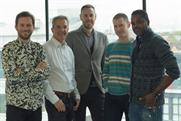 Naked Communications: Casper Willer (ECD); Ian Clark (chief executive); Alex Conaway (MD); Will Collin (founding partner) and Wayne Fletcher (global chief strategy officer)