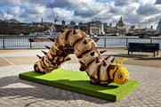 Nestlé Cereals' short video reveals how its giant cereal caterpillar activation is made