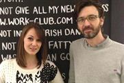 Liza Bate and Mark Davis: news hires at Work Club