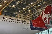 Virgin Atlantic repaints planes as part of campaign against BA/AA alliance