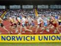 Norwich Union: backing athletics sponsorship
