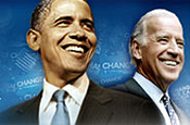 Obama and vice-presidential running mate Joe Biden: YouTube row
