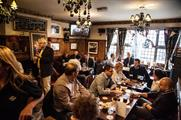 The ale brand took over the Masons Arms in Soho
