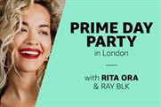 Amazon Music marks Prime Day with Rita Ora