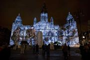 Glasgow's War featured a specially compiled soundtrack and visuals