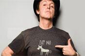 Paul McCartney: fronts Peta vegetarian campaign